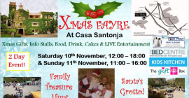Christmas Fair at Casa Santonja